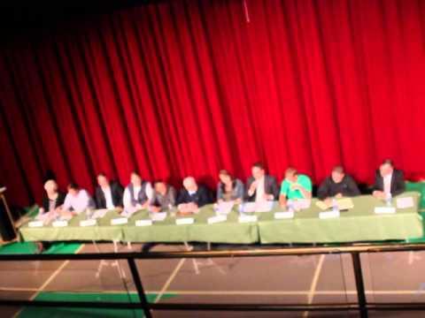 Pine City School Board Forum - Electronic Sign