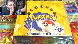 Ouverture d'un Display Pokémon SET DE BASE ED1 en Francais #1 ! # 600 000 Abonnés #