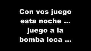 La bomba loca  Karaoke   Gustavo Cordera
