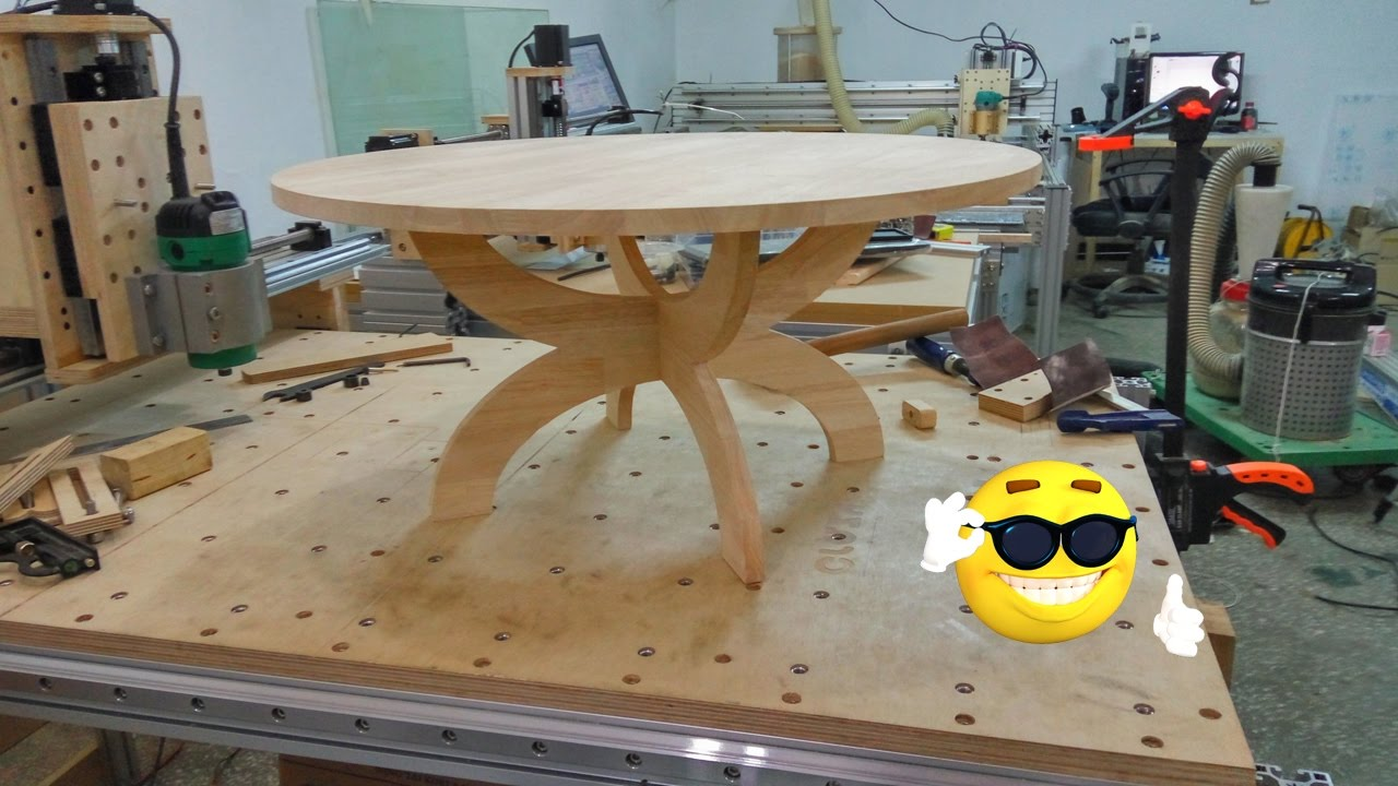 Part24 Wood Joint Korean Tea Table [very Easy CNC(Crazy Numerical Control)  Build]