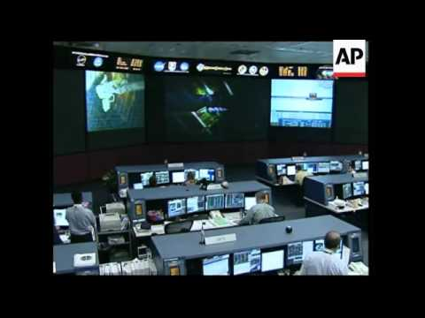 Astronauts performed emergency repairs on  space station solar energy panel