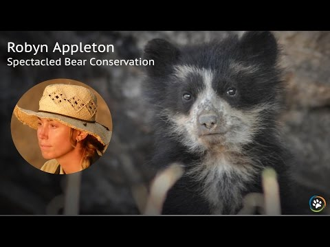 Spectacled Bear Conservation · Spring Expo 2017 · Robyn Appleton