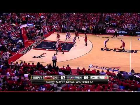 Bulls vs. Wizards Game 3 Highlights | NBA PLAYOFFS 2014