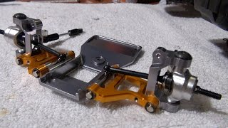 Repeat youtube video Tamiya CC-01 Steering and Front Suspension Upgrade