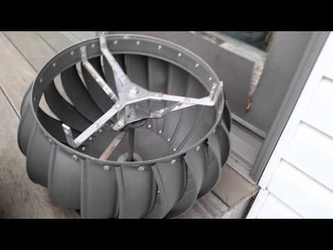 Lomanco Turbine Roof Vent Guarantee. Lifetime!