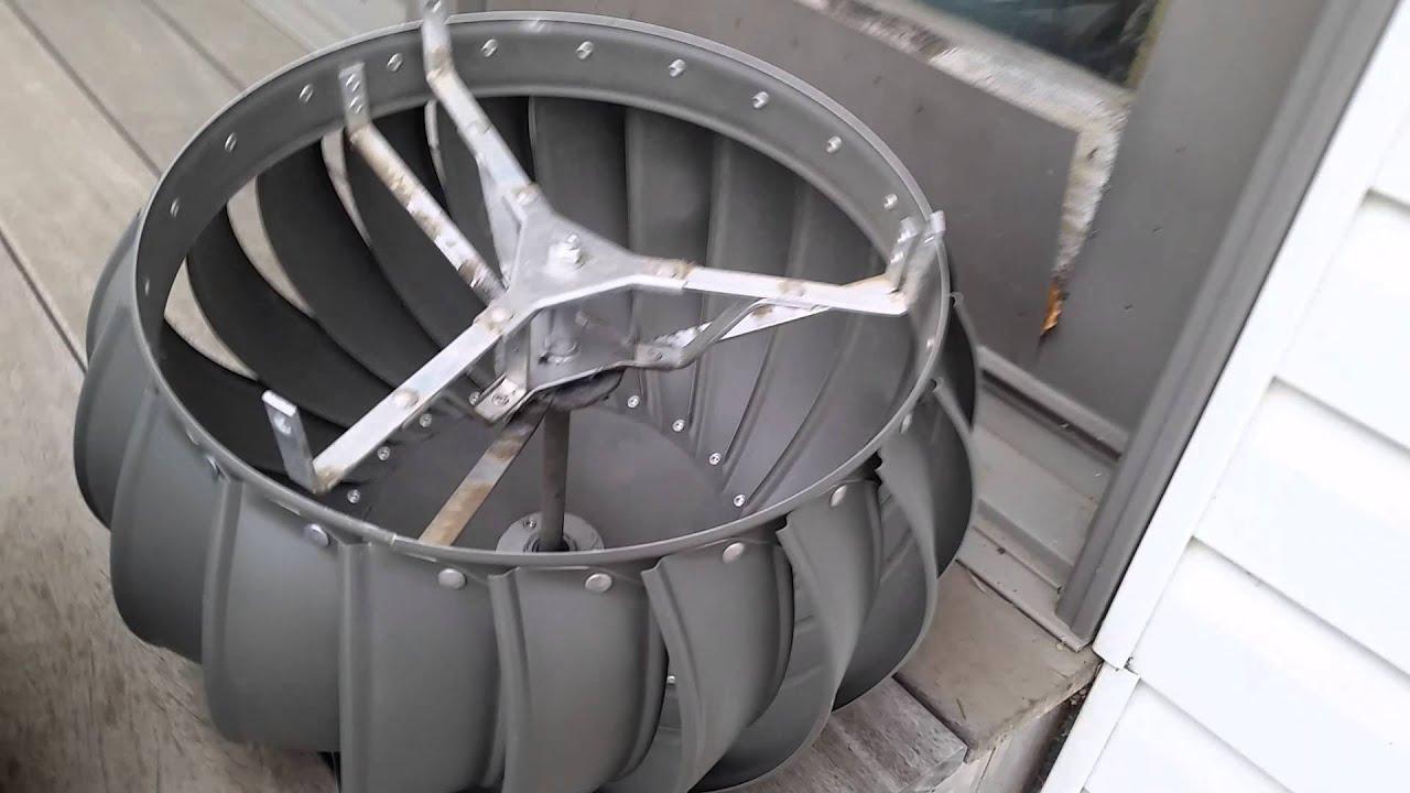 Lomanco Turbine Roof Vent Guarantee Lifetime Youtube