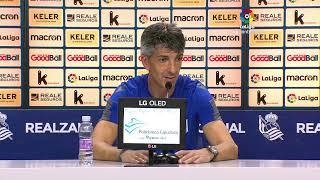 Rueda de prensa Real Sociedad vs RCD Espanyol de Barcelona
