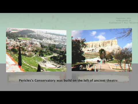 Ancient Monuments In Athens - (3D)