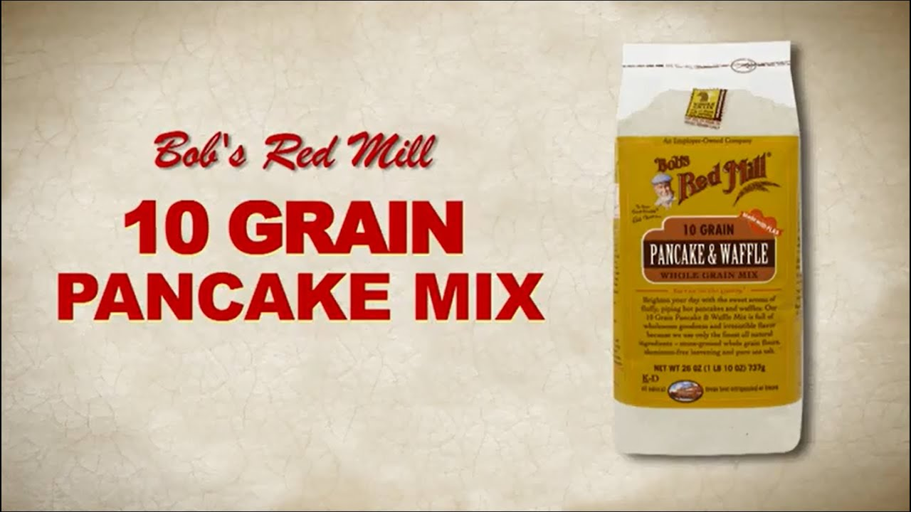 10 grain pancake waffle mix bobs red mill youtube ccuart Gallery