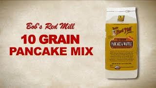 10 Grain Pancake & Waffle Mix | Bob's Red Mill