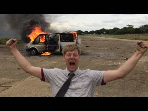 So What IF loads of fireworks exploded in my Van
