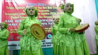 Lagu wajib Merdeka membangun oleh kelompok Qasidah rw04 dunguswiru