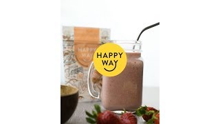 Berry and Coconut Smoothie | HAPPY WAY