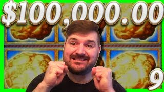 $100,000.00 In Slot Machine 1/2 JACKPOTS 💰9💰BIG WINNING W/ SDGuy1234