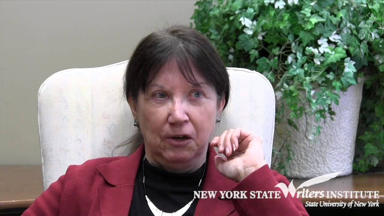 Joan Murray at the NYS Writers Institute in 2015 - YouTube