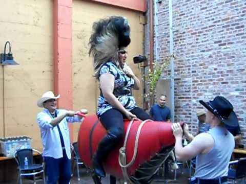 Gloria Whole Rides Might Broncy At Brix Nightclub In San