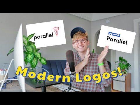 Designing 6 modern logo options!