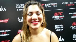 Bethe Correia sobre duelo com Marion Reneau  no UFC Fortaleza: