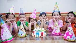 Kids Go To School | Day Birthday Of Chuns My sister went to buy a Birthday Cake And Fruits 2