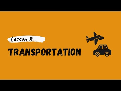 German For Beginners: Lesson 8 - Transportation