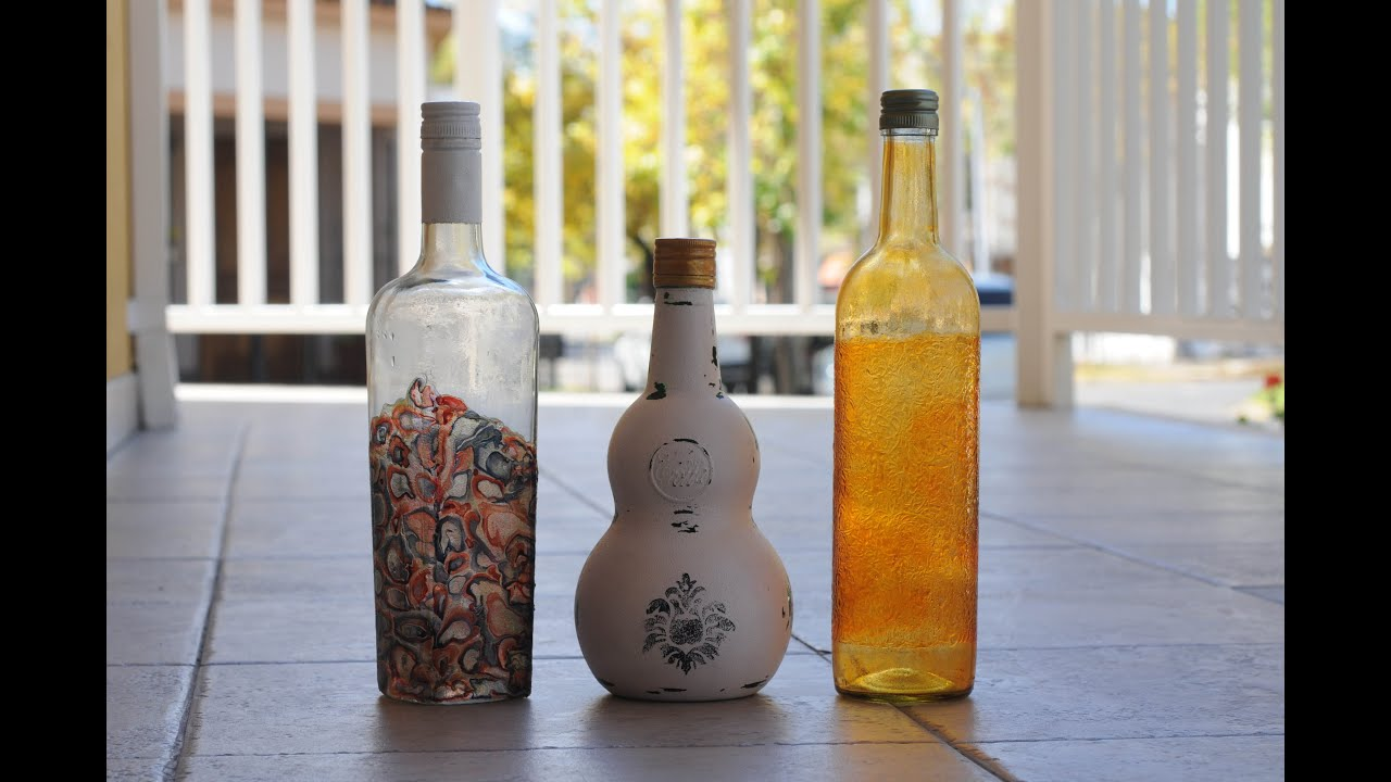 reciclar botellas de cristal