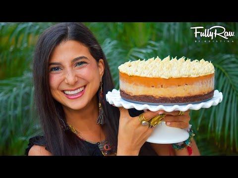 FullyRaw Pumpkin Pie Cheesecake!