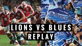 REPLAY: The Lions vs Blues 2017 Video