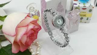 Модные Женские Часы Украшенные Кристаллами Бренд DUNGBEETLE от AliExpress Watch Global Store