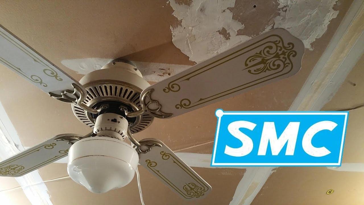 SMC Park Avenue II Ceiling Fan - YouTube