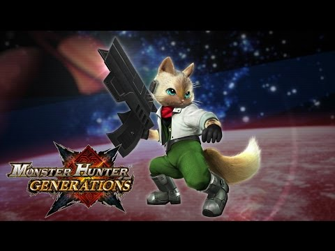Monster Hunter Generations - Star Fox Trailer thumbnail