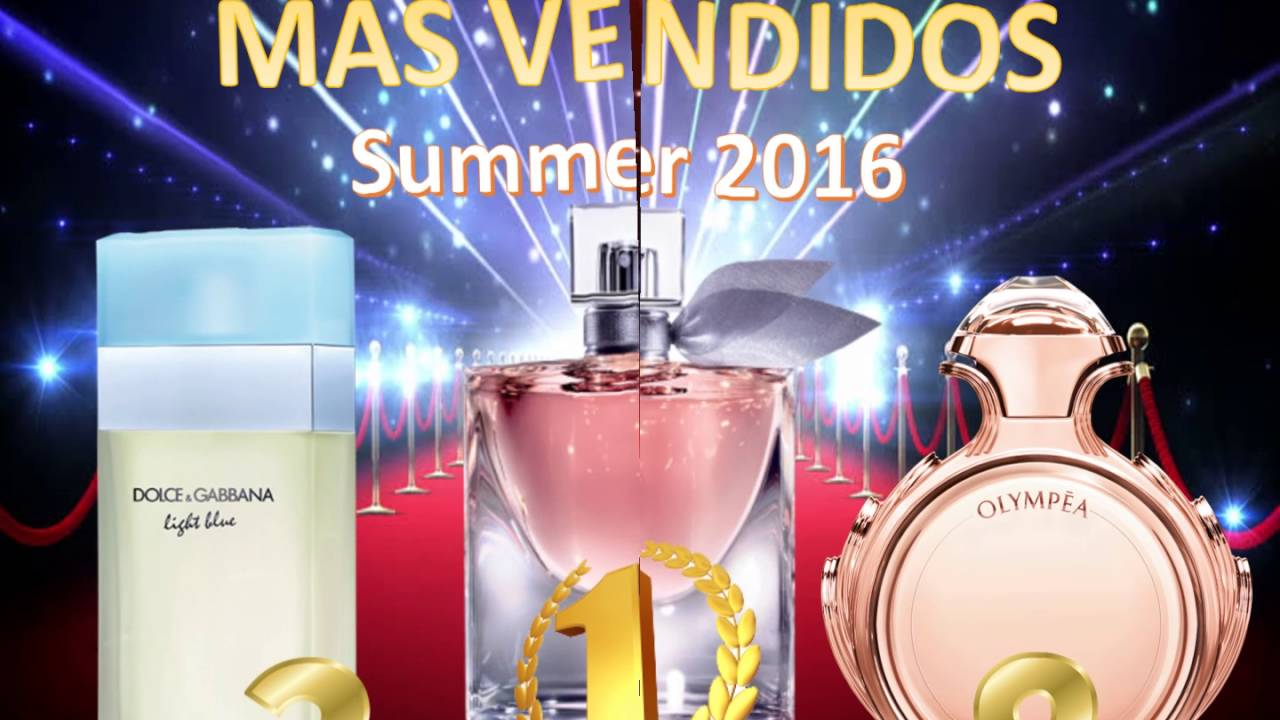 perfumes frescos mujer mas vendidos