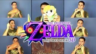 Repeat youtube video Majora's Mask: Stone Tower Temple on Ocarina