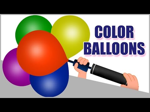 Learn Colors with Balloons for Children | Learning Colors with Balloons |Color Balloons Popping Show