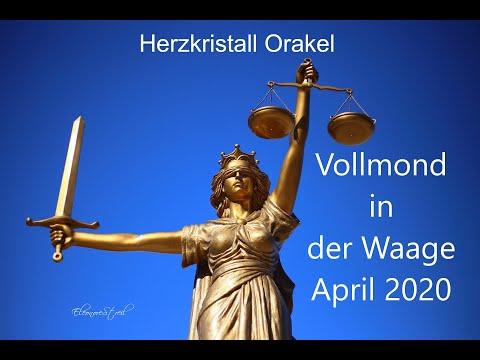 Vollmondorakel 8.April 2020  –  Die Gerechtigkeit schlägt zu!