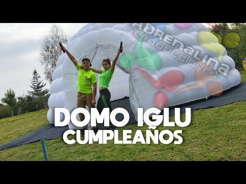Fiesta Discopeque Adrenalina Producciones Con Domo Inflable