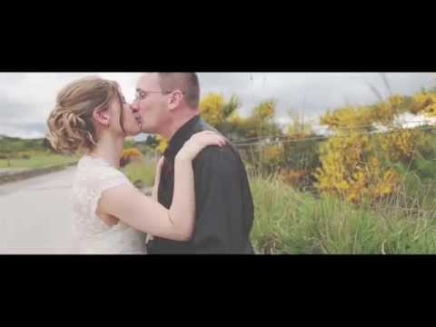 Hayley & Allen - Aberdeen wedding video and Marryoke - Woodend Barn and Dunnotar Castle