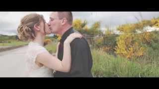 Hayley & Allen - Aberdeen wedding video and Marryoke - Woodend Barn and Dunnotar Castle