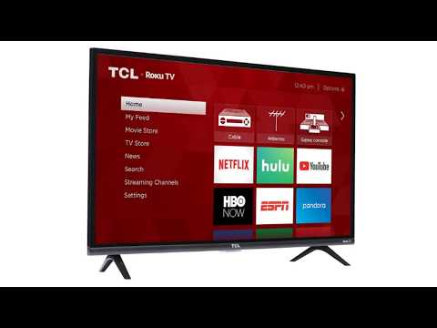 Must See !! TCL 32S327 32 Inch 1080p Roku Smart LED TV Review (2018 Model)