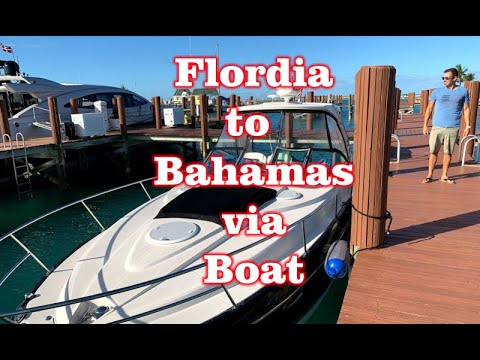 Take Boat From West Palm Beach, Florida To West End, Bahamas - Across The Gulf Stream