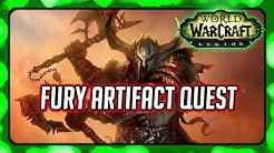 WOW Legion ► Fury Warrior Artifact Quest - Warswords of Valor