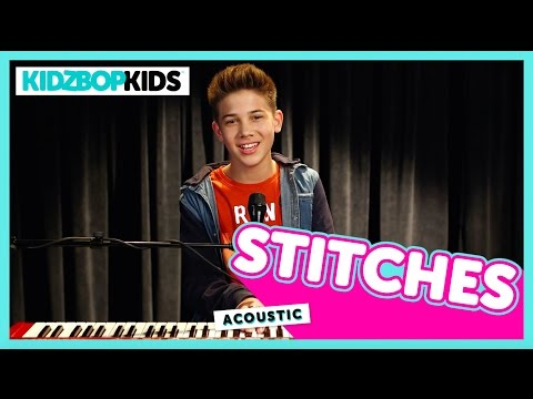 Stitches - Shawn Mendes (Cover by Grant from KIDZ BOP)