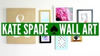 Diy Kate Spade ♠ Wall Art (collage) | Now&jenn