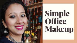 Simple Office Makeup | How I do my makeup Daily | Assamese Makeup Video | Meenakshi Gogoi