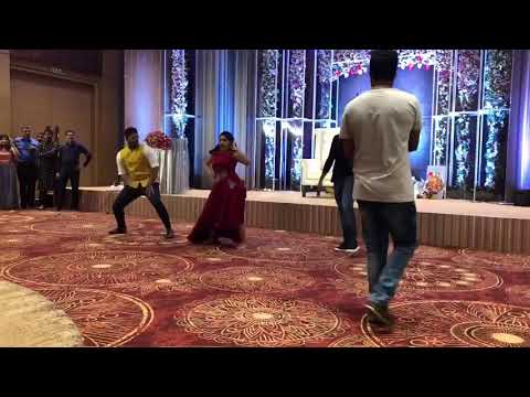 Niveda Thomas beautiful dance for prabhudeva song at marriage party