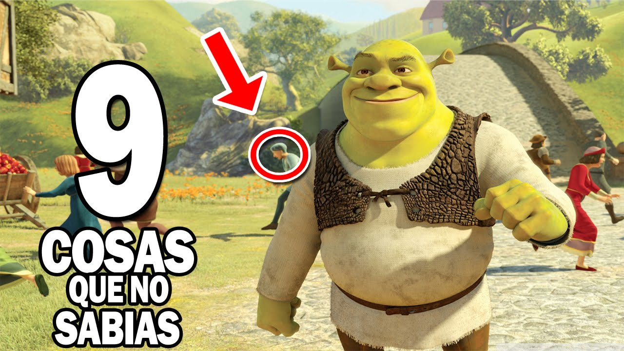 "9 Curiosidades Sobre Shrek ""La Película"" - YouTube"
