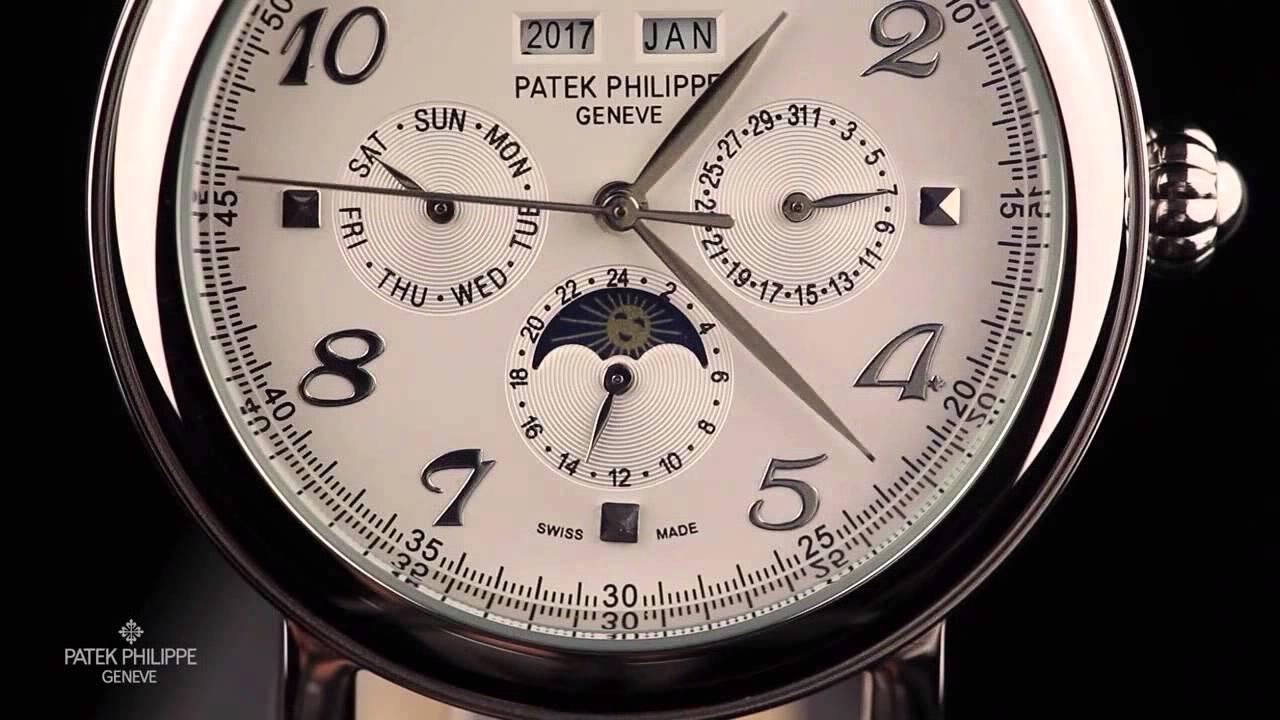 Patek philippe geneve perpetual calendar 3940 040 youtube for Patek philippe geneve