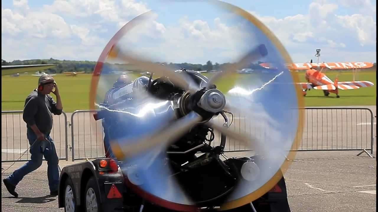 Aircraft Engine Madness and strange propeller effects. - YouTube