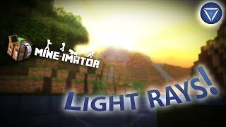 VOLUMETRIC LIGHTING! Light Rays in Mine Imator! ~Tutorial (100% Mine-Imator)