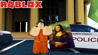 JAILBREAK! POLICJANT RATUJE MUZEUM!  - ROBLOX  #551