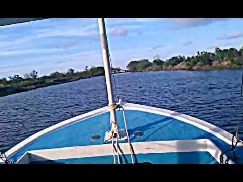 Hopedale shrimp skimmer skiff - YouTube